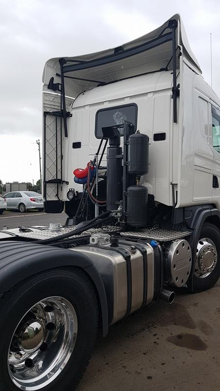 Hydraulic Grain Blower Truck