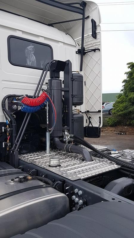 Warrnambool Hydraulics - Blower Truck